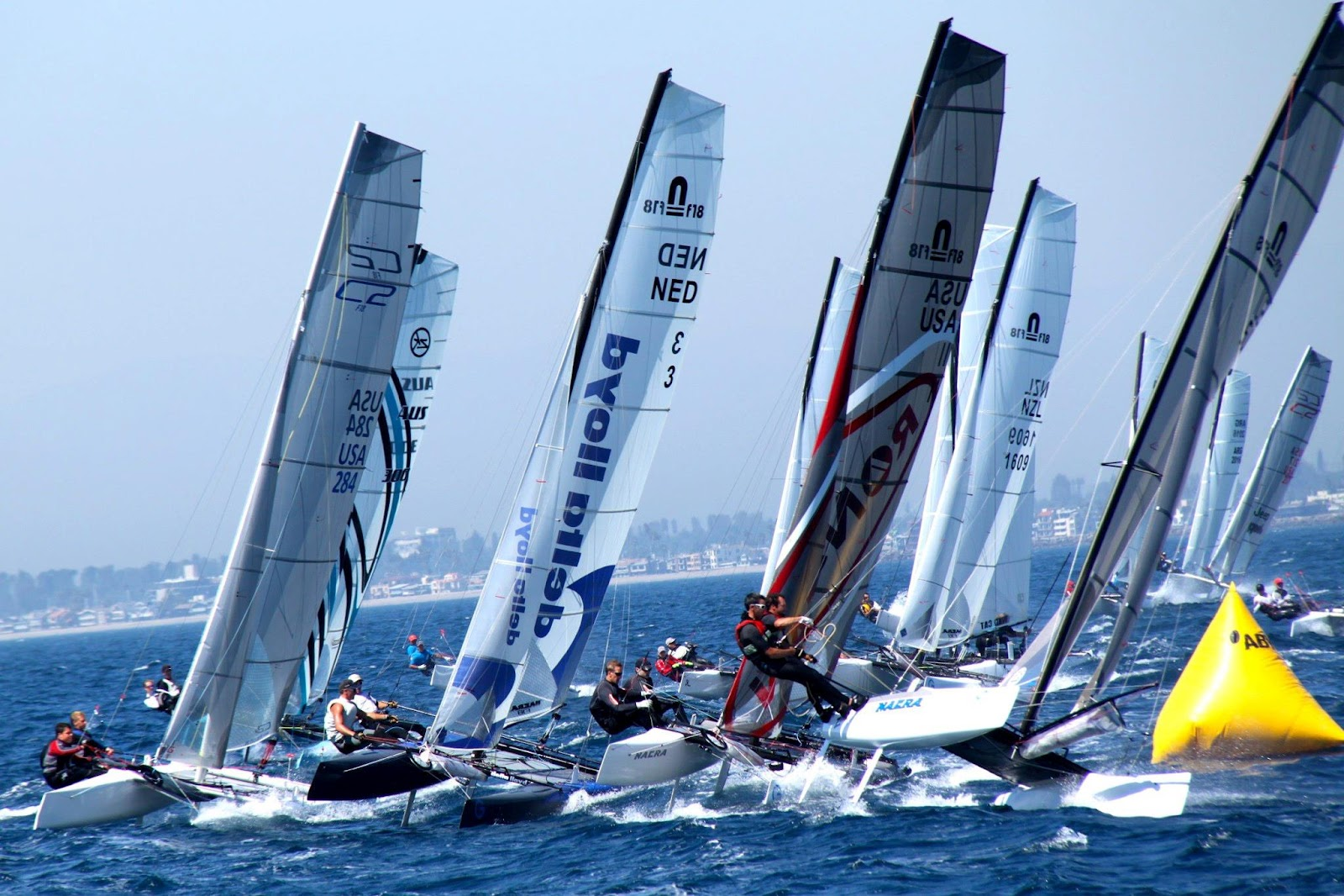 Resultado de imagen de formula 18 catamaran