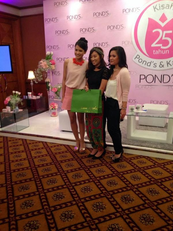 1st winner dresscode at Pond's teens 25th anniversary