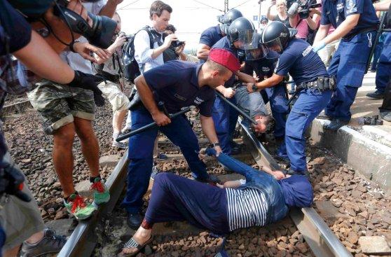 Refugiados y violencia