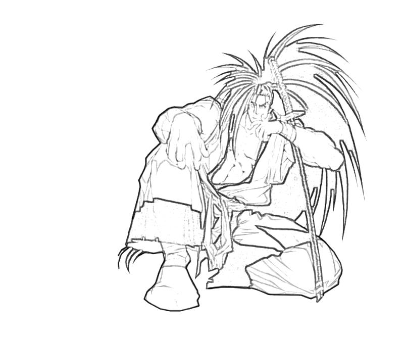 printable-haohmaru-sitdown-coloring-pages