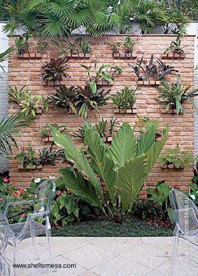 Idea de diseño para jardín exterior