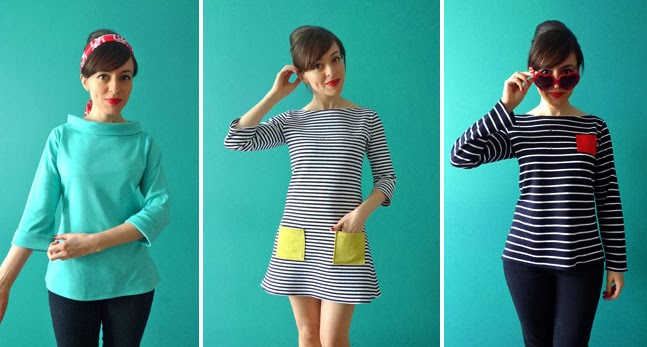 Tilly and the buttons where to buy knit fabric for Thick material t shirts