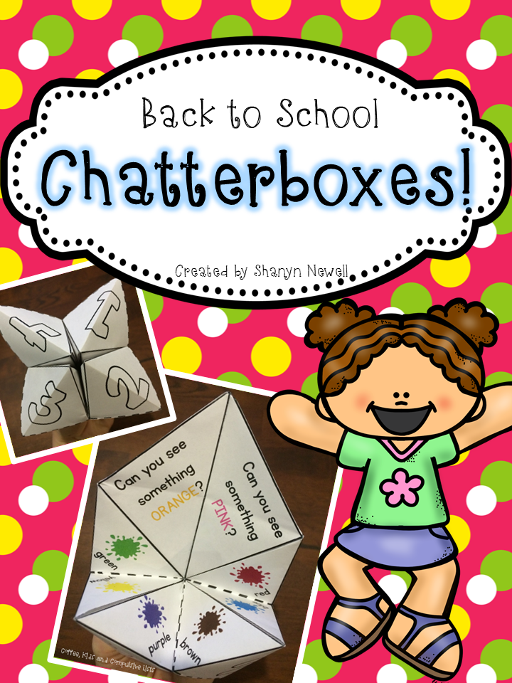 http://www.teacherspayteachers.com/Product/Back-to-School-ChatterboxesCootie-Catchers-1395249