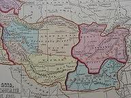 نقشه مستقل بلوچستان در سال 1842 م