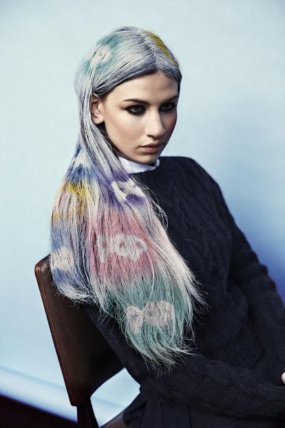 love of fox dip dye