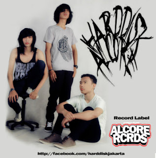 Harddisk Alcore band screamo / Experimental / Post hardcore Jakarta Selatan Alcore Record Foto Logo Wallpaper