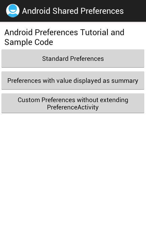sharedpreferences - Android Shared preferences example ...