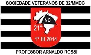 Bandeira do 21° Núcleo de Correspondência