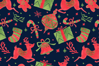 December Celebration Pattern by Haidi Shabrina