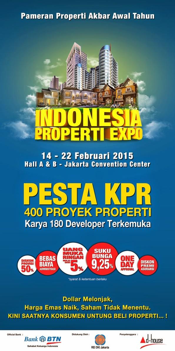 Event Pameran Rumah Rakyat Property Expo February  2015