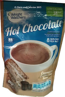 Weight Watchers cappuccino Hot Chocolate