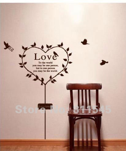 life by mada valentine s day mix inspiracji mi osna diy 3d silver mirror surface wall sticker mural decal art
