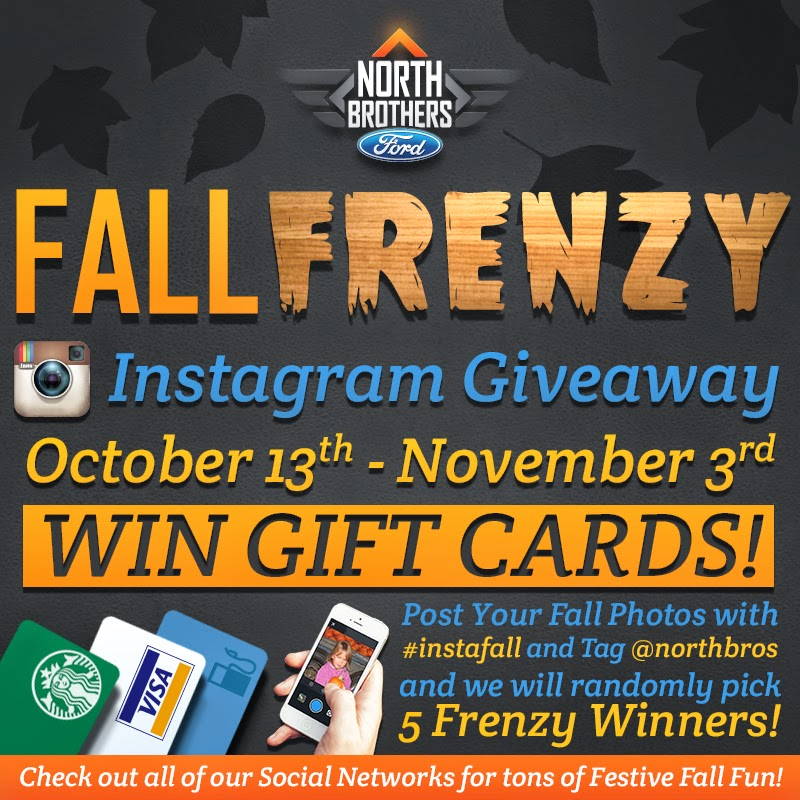 North Brothers Ford Fall Frenzy Instagram Giveaway