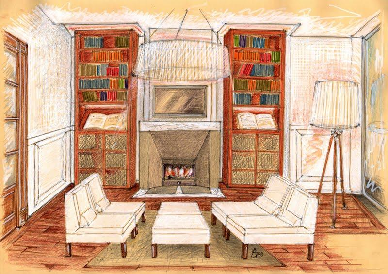 Disegno prospettiva stanza idee creative di interni e mobili for Grieco mobili