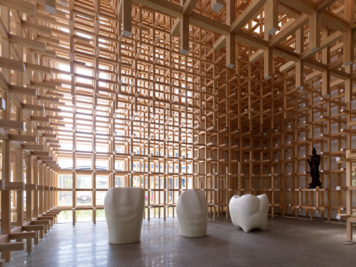 The sandman chronicles prostho museum research centre by Wood architecture definition