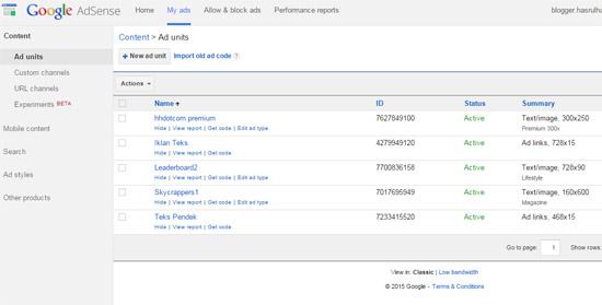 Blog bahasa melayu Google Adsense