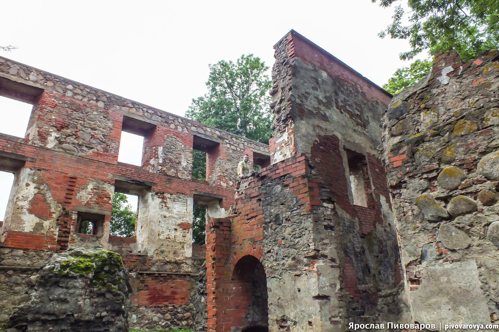 Замок Гробиня (Grobinja castle)