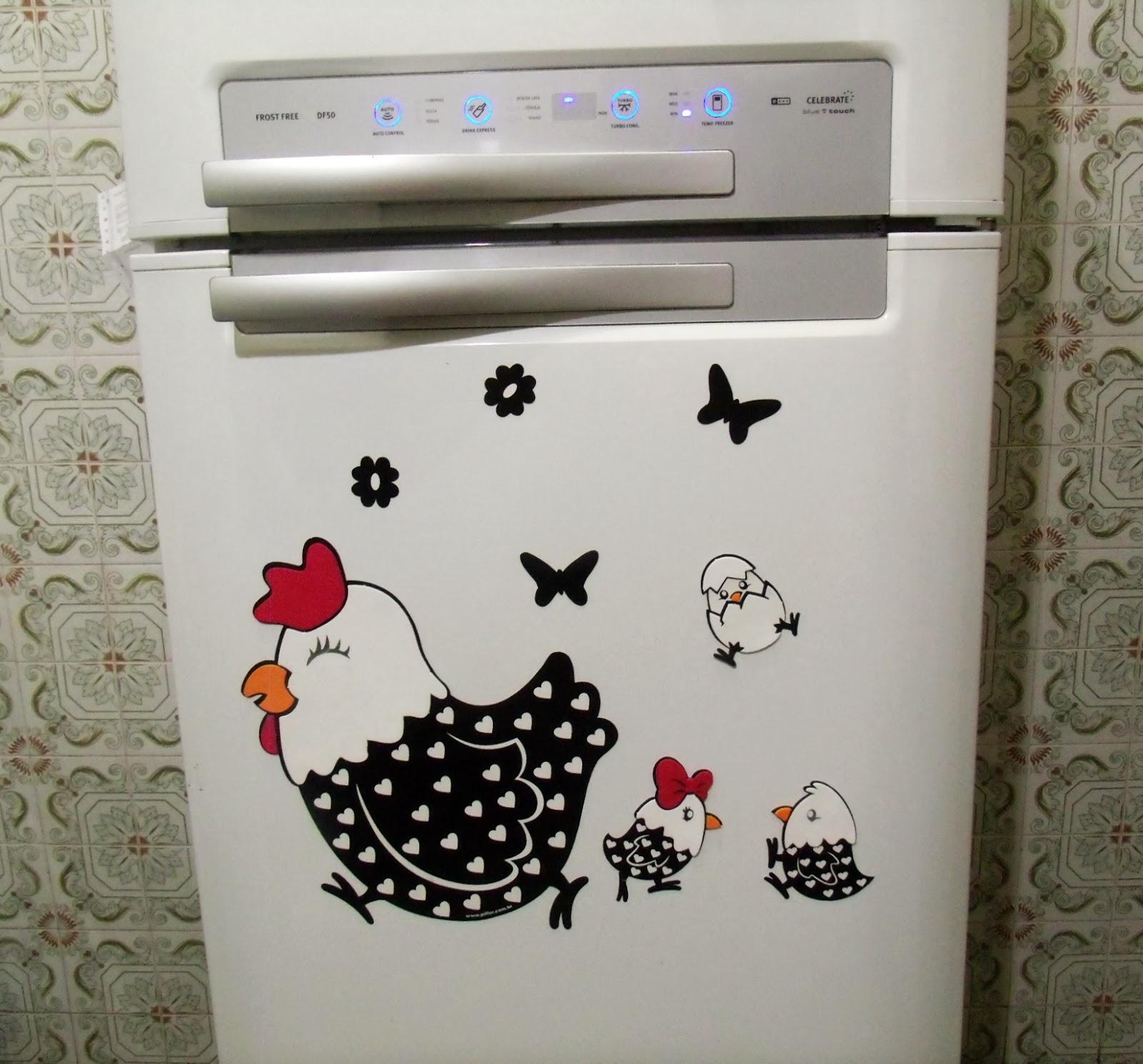 adesivo de geladeira
