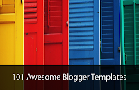 101 Awesome Free Blogger Templates