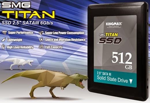 KINGMAX SSD SMG Titan