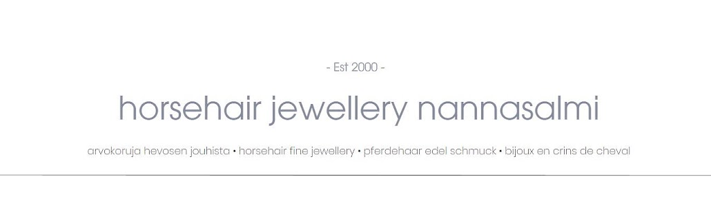 nannasalmi horsehair jewelry