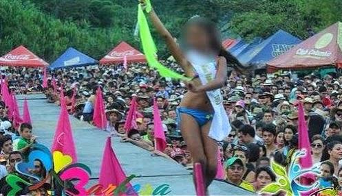 concursante del miss tanguita en colombia