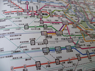 Tokyo Subway Map Metro Maps of the World Mark Ovenden