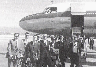 Equipo del Clun Ajedrez Tarragona en Palma de Mallorca en 1970