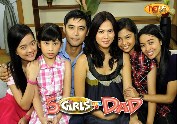 5 Girls and A Dad: A feel-good Teleserye of Net 25
