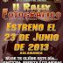 """II Rally Fotográfico """"María Santísima de la Caridad y del Consuelo"""""""