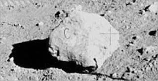 Foto Original De La Famosa Roca C - Misión Apollo
