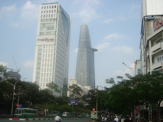 Skyscrapers of the Ho Chi Minh City (Saigon), Vietnam