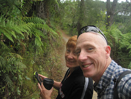 Hiking in Taupo, New Zealand