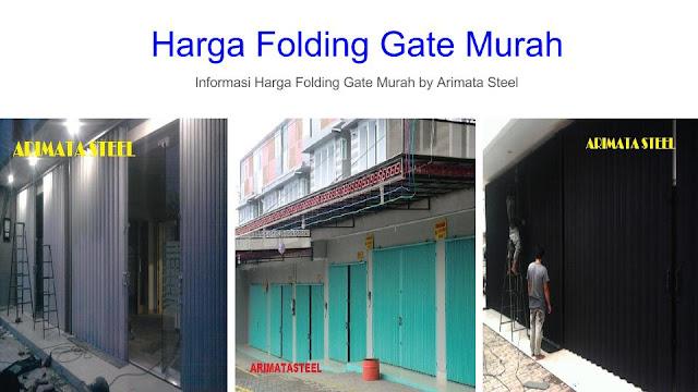 gambar untuk Harga Folding Gate Jakarta Utara