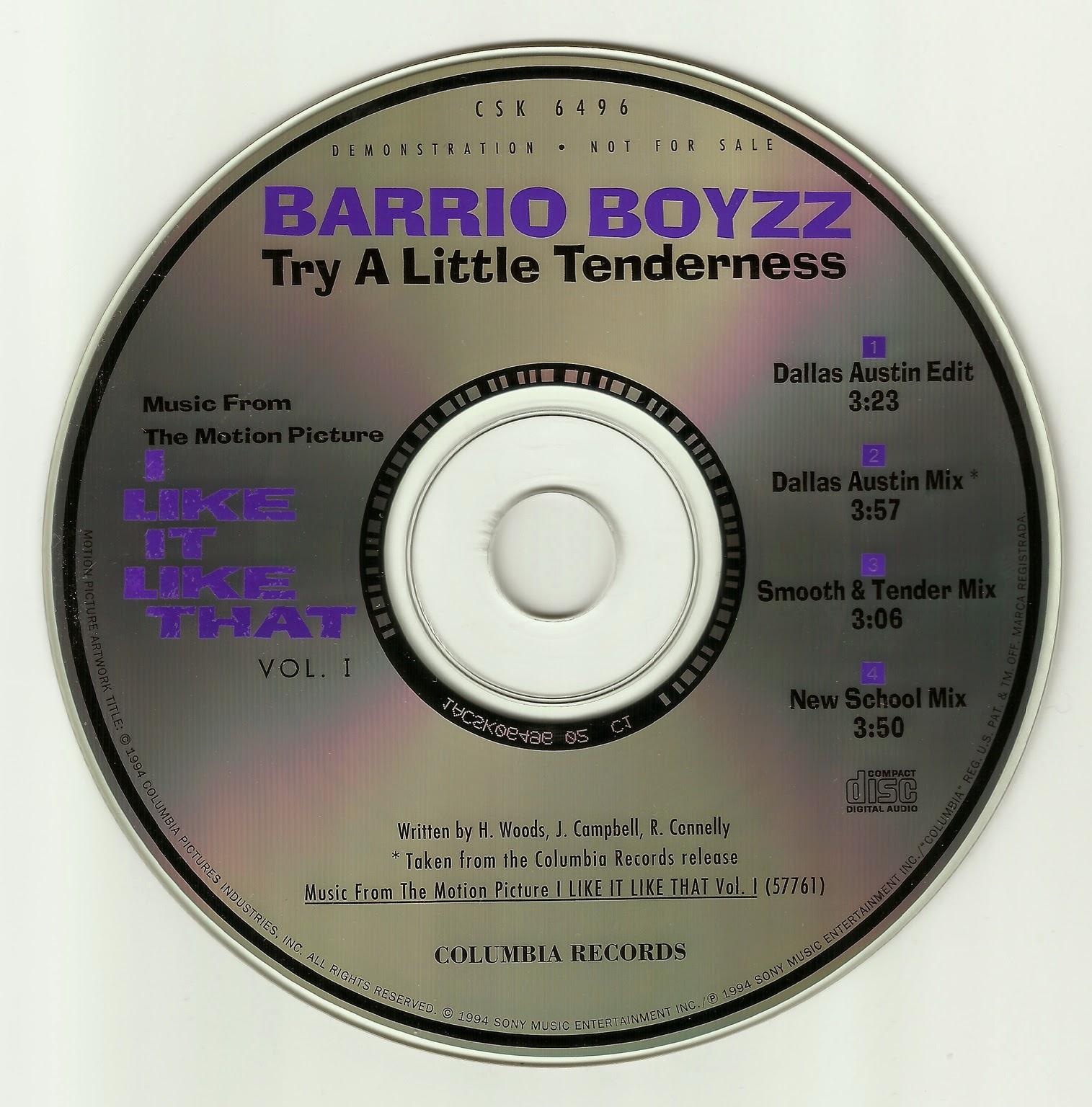 Barrio Boyzz - Try A Little Tenderness