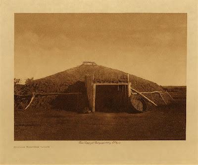 Mandan Indian Earth Lodges