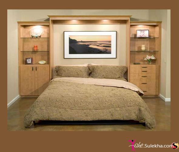 Perfect design for your bedroom babli wood works for Bedroom cabinet designs for small spaces