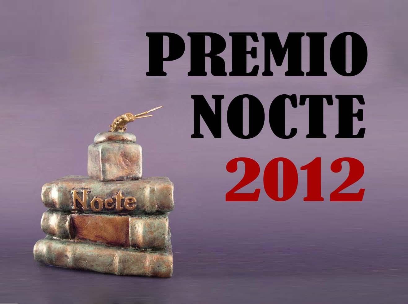 PREMIO AL BLOG DE LA NOCHE 2012!!