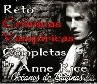 Reto Crónicas Vampíricas de Anne Rice