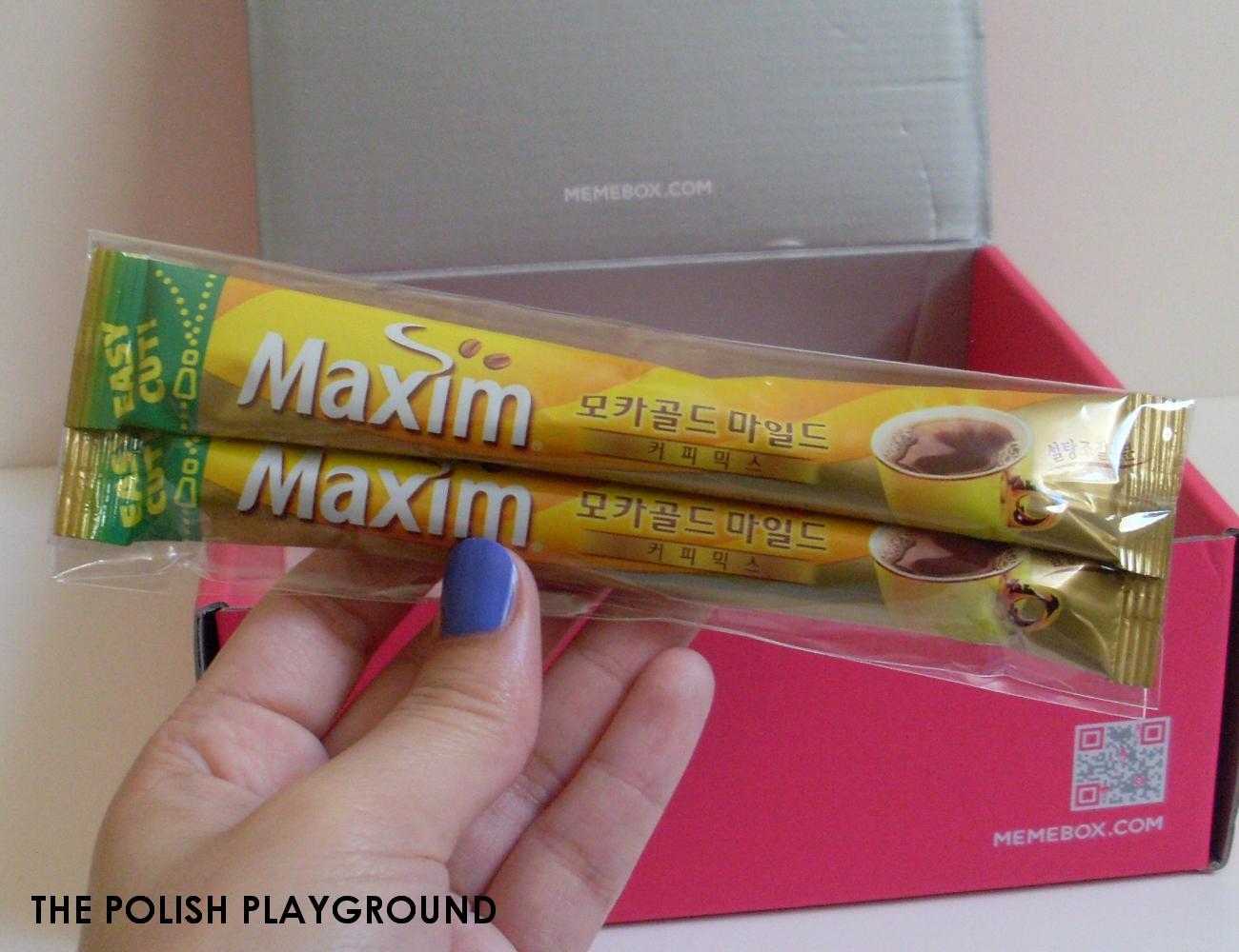 Memebox Office Essentials Unboxing - Maxim Maxim Mocha Gold