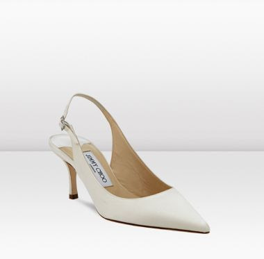 jimmy choo bridal shoes light