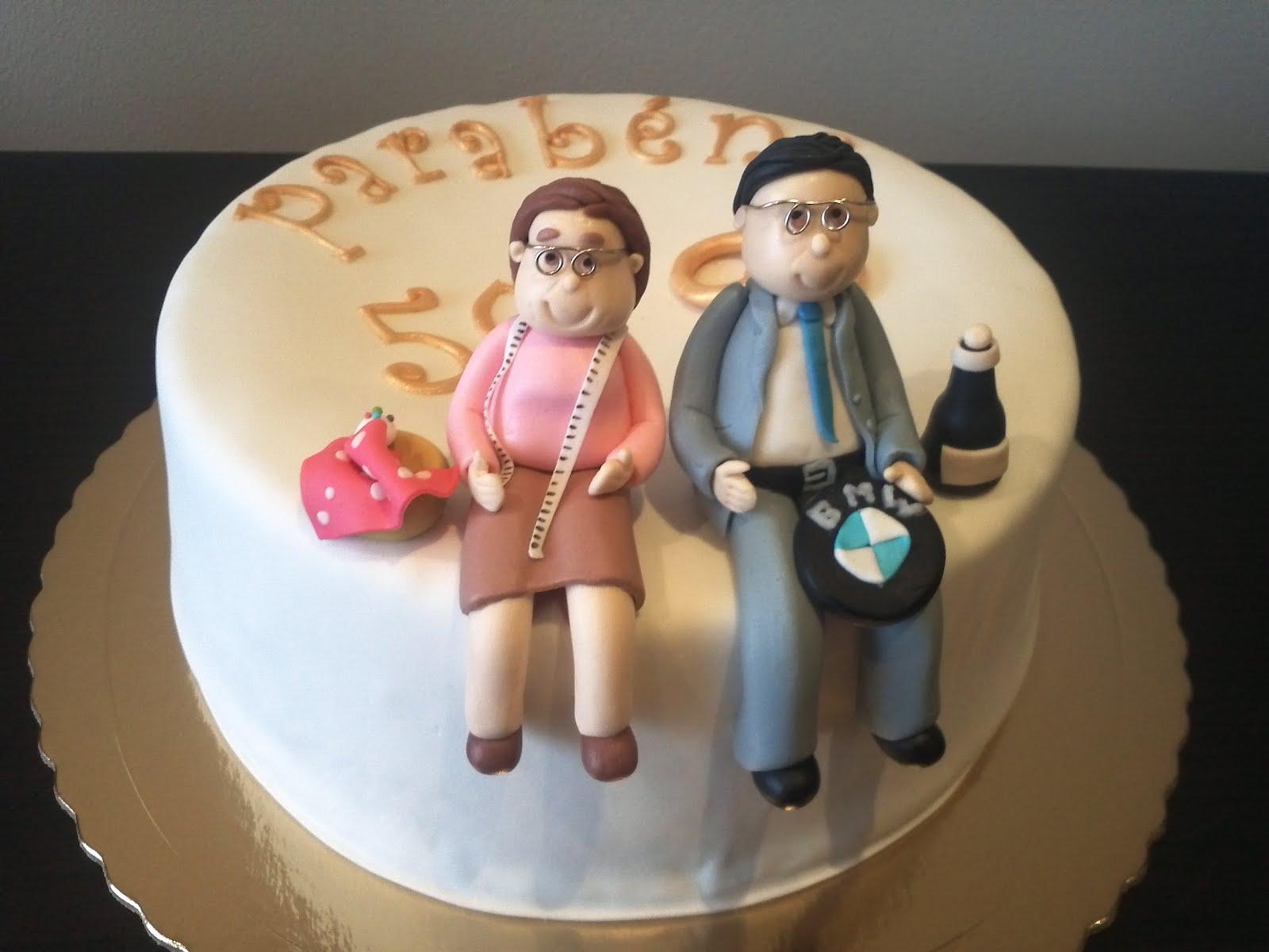 Bolinhos 3d bolo 50 anos de casados - Regalos 50 anos de casados ...