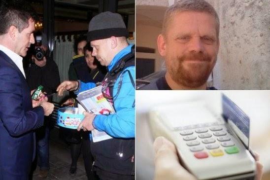 pengemis lewat kartu kredit