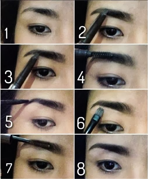Sassyrainbow How To Full Defined Brows