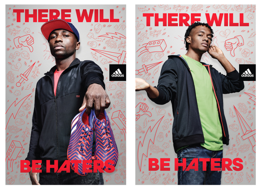 Adidas There Will be Haters