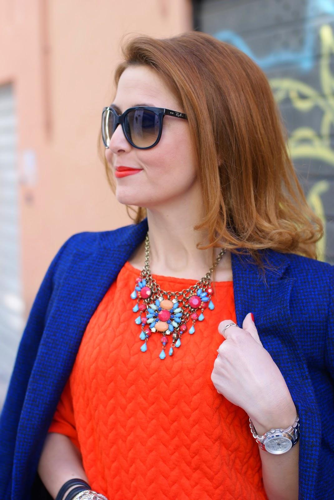 Blumarine leather fringed skirt, fringe hemline skirt, ray-ban cat eye sunglasses, Miu Miu black tote, bijou brigitte necklace, Fashion and Cookies fashion blog, fashion blogger