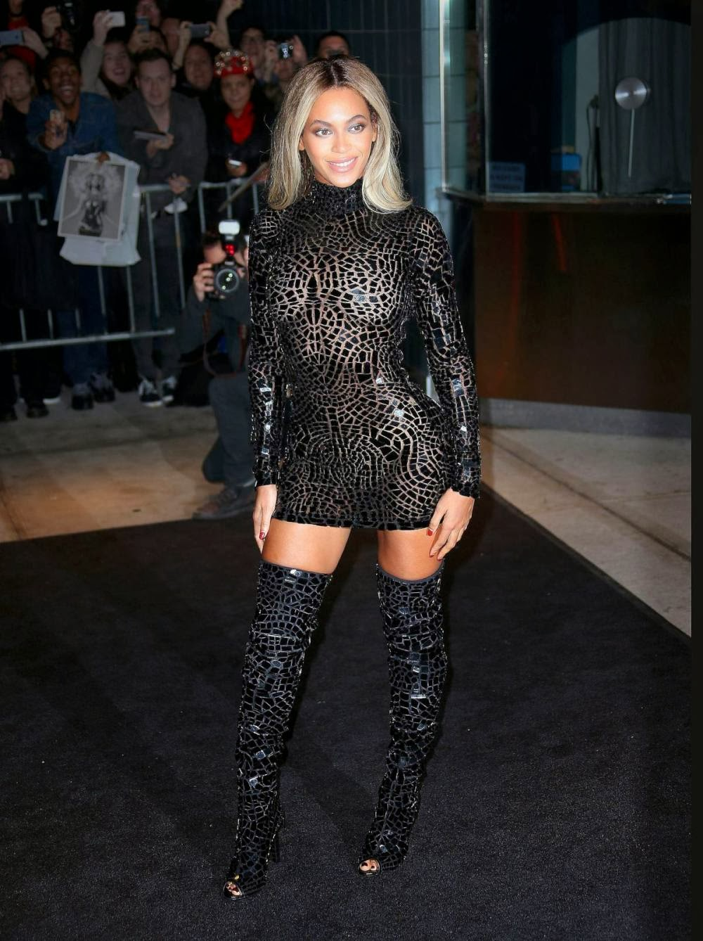 Beyonce See Through Blouse Long Sleeved Blouse
