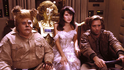 John and the Cast of Spaceballs