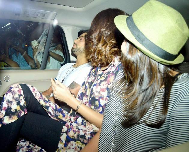 anushka sharma with Virat Kohli HD Pics