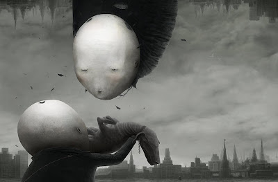 The silence - Art by Anton Semenov, Russia.